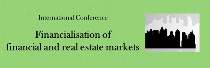 Financialisation of financial and real estate markets